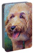 Mojo The Shaggy Dog Portable Battery Charger