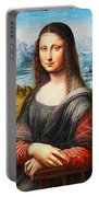 Mona Lisa Painting Portable Battery Charger