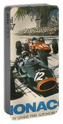 Monaco Grand Prix 1967 Portable Battery Charger