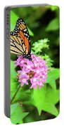 Monarch Butterfly And Honey Bee Portable Battery Charger
