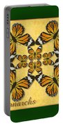 Monarch Butterfly Pin Wheel Portable Battery Charger
