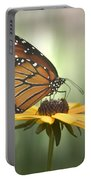 Monarch On A Black Eyed Susan Portable Battery Charger