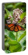 Monarch On Milk Weed Portable Battery Charger
