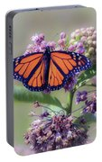 Monarch On The Milkweed Portable Battery Charger