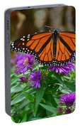 Monarch Spreading Its Wings Portable Battery Charger
