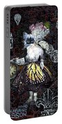 Monarch Steampunk Goddess Portable Battery Charger