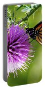 Monarch Thistle Portable Battery Charger