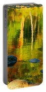 Monet Autumnal Portable Battery Charger