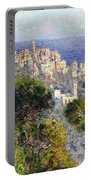 Monet: Bordighera, 1884 Portable Battery Charger