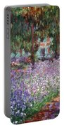 Monet: Giverny, 1900 Portable Battery Charger