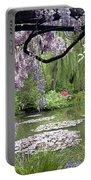 Monet Water Garden Portable Battery Charger