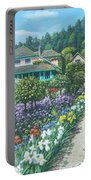 Monet's Garden Giverny Portable Battery Charger