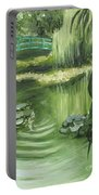 Monet's Garden Portable Battery Charger
