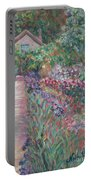 Monet's Gardens Portable Battery Charger