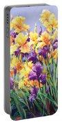 Monet's Iris Garden Portable Battery Charger