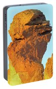 Monkey Face Pillar At Smith Rock Closeup Portable Battery Charger