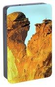 Monkey Face Pillar At Smith Rock Portable Battery Charger