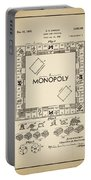 Monopoly Patent 1935 Vintage Border Portable Battery Charger