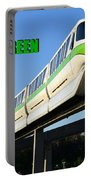 Monorail Green Wdwrf Portable Battery Charger