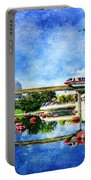 Monorail Red - Coming 'round The Bend Portable Battery Charger