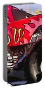 Monster Truck El Diablo Portable Battery Charger
