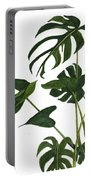 Monstera Bunch  Portable Battery Charger