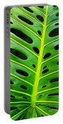 Monstera Leaf Portable Battery Charger
