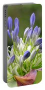 Montana Flower  Portable Battery Charger