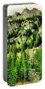 Montana Mountains In Autumn  Portable Battery Charger