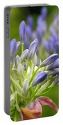 Montana Purple And Blue Portable Battery Charger