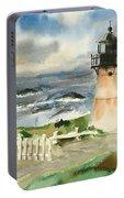 Montara Lighthouse, Plein Air Portable Battery Charger