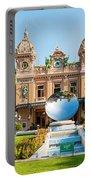 Monte Carlo Casino And Sky Mirror In Monaco Portable Battery Charger