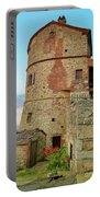 Montefollonico Stone Tower And Fortress Portable Battery Charger