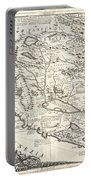 Montenegro 1690 Map Portable Battery Charger