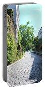Montmarte Paris Cobblestone Streets Portable Battery Charger