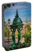 Montmartre Wallace Fountain Portable Battery Charger