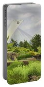 Montreal Biodome Backdrop Portable Battery Charger