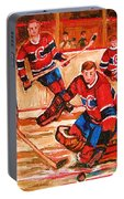 Montreal Forum Hockey Game Portable Battery Charger