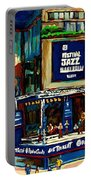 Montreal Jazz Festival Arcade Portable Battery Charger