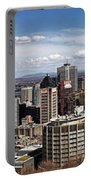 Montreal Seen From Above Portable Battery Charger