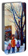 Montreal Winter Portable Battery Charger