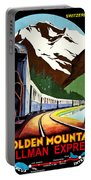 Montreux, Golden Mountain Railway, Switzerland Portable Battery Charger