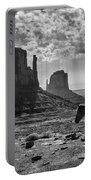 Monument Valley Horses Portable Battery Charger
