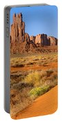 Monument Valley,arizona Portable Battery Charger