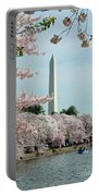 Monumental Cherry Blossoms Portable Battery Charger