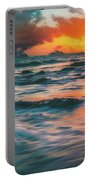 Moody Ocean Portable Battery Charger