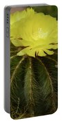 Moon Cactus Blooms Portable Battery Charger