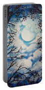 Moon Clouds Portable Battery Charger