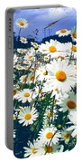 Moon Daisies Portable Battery Charger
