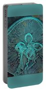 Moon Jellyfish Art Portable Battery Charger